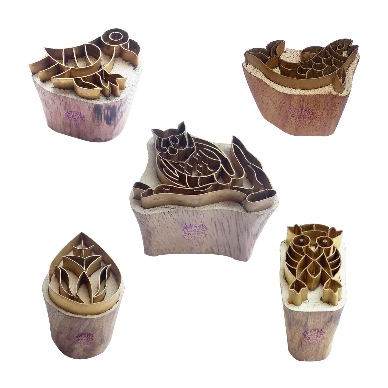 Animal Brass Blocks BHtag0026