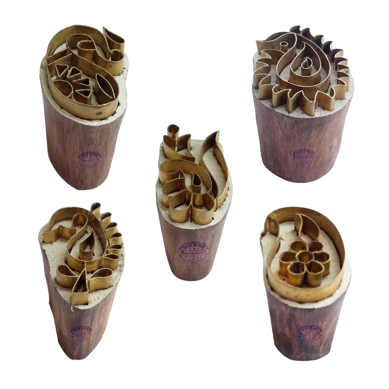 Paisley Brass Blocks BHtag0028