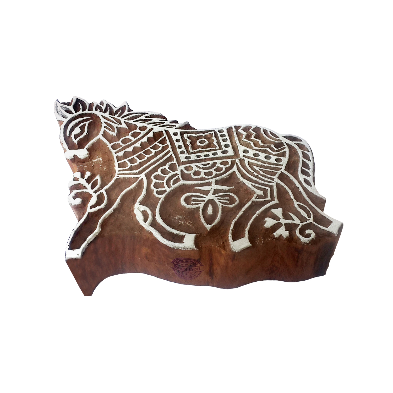 Large Animals Printing Blocks 4 inches