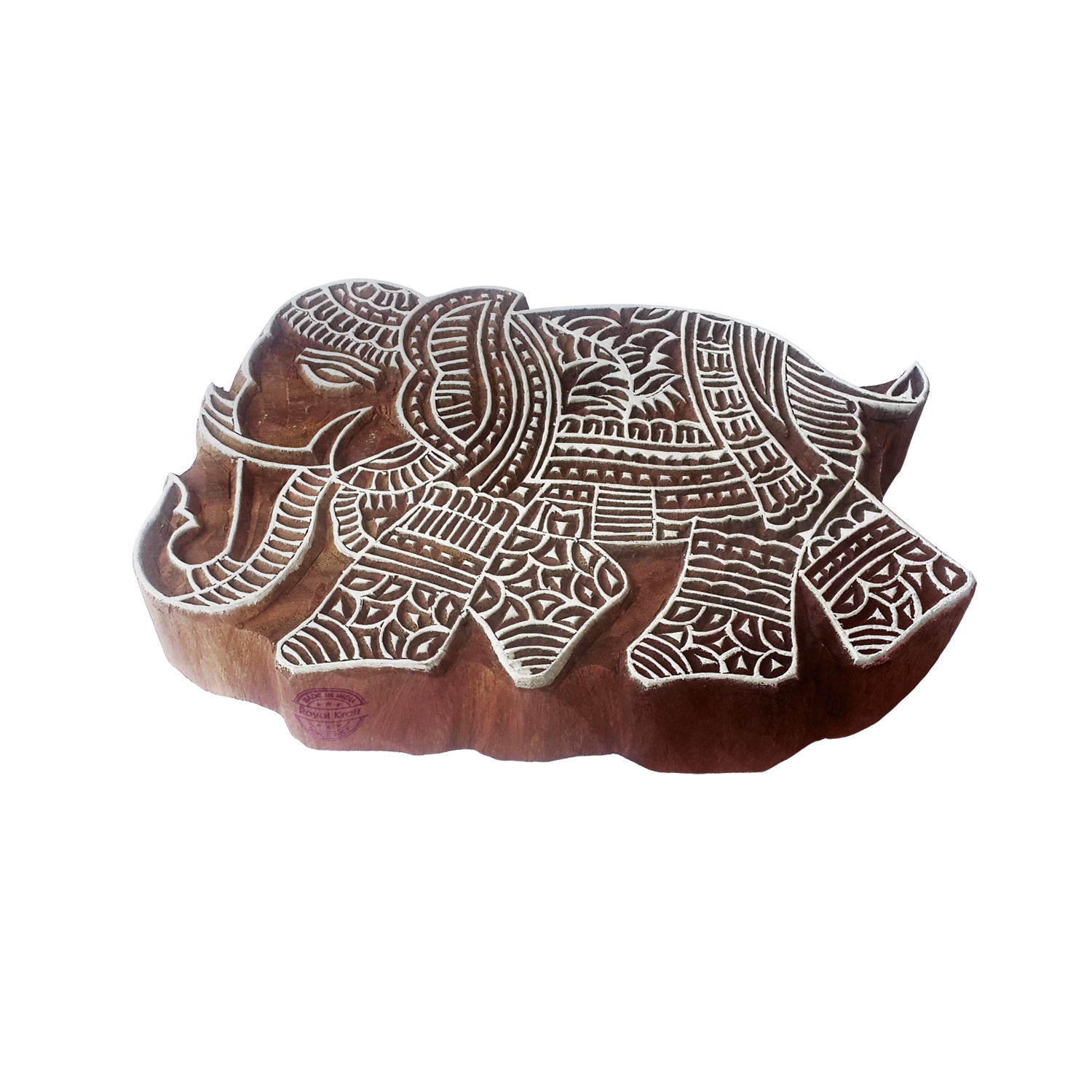 Large Animals Printing Blocks 5.5 inches