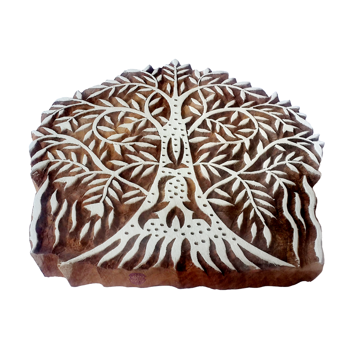 Large Tree Printing Blocks 5.5 inches