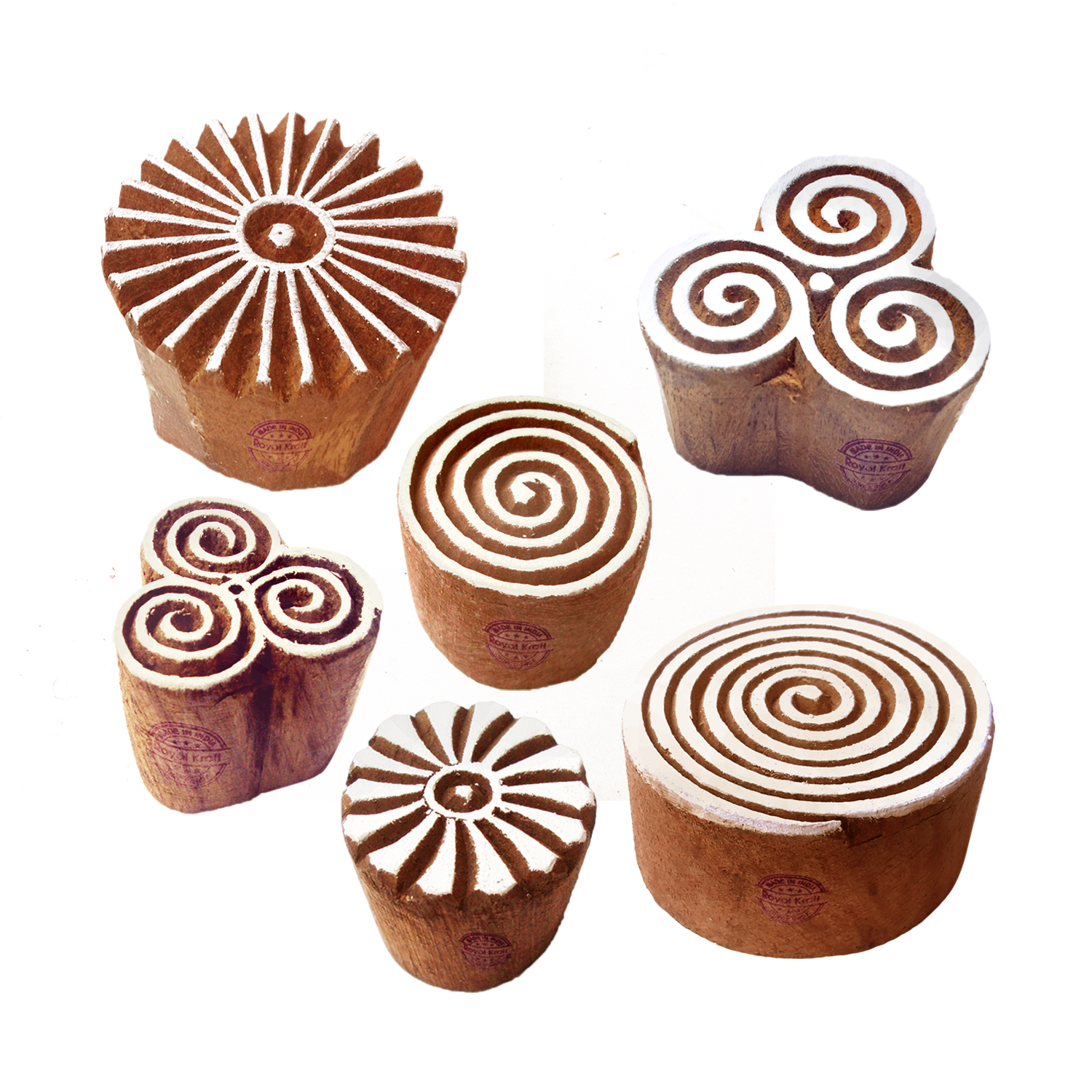 Round Printing Stamps 2 inches