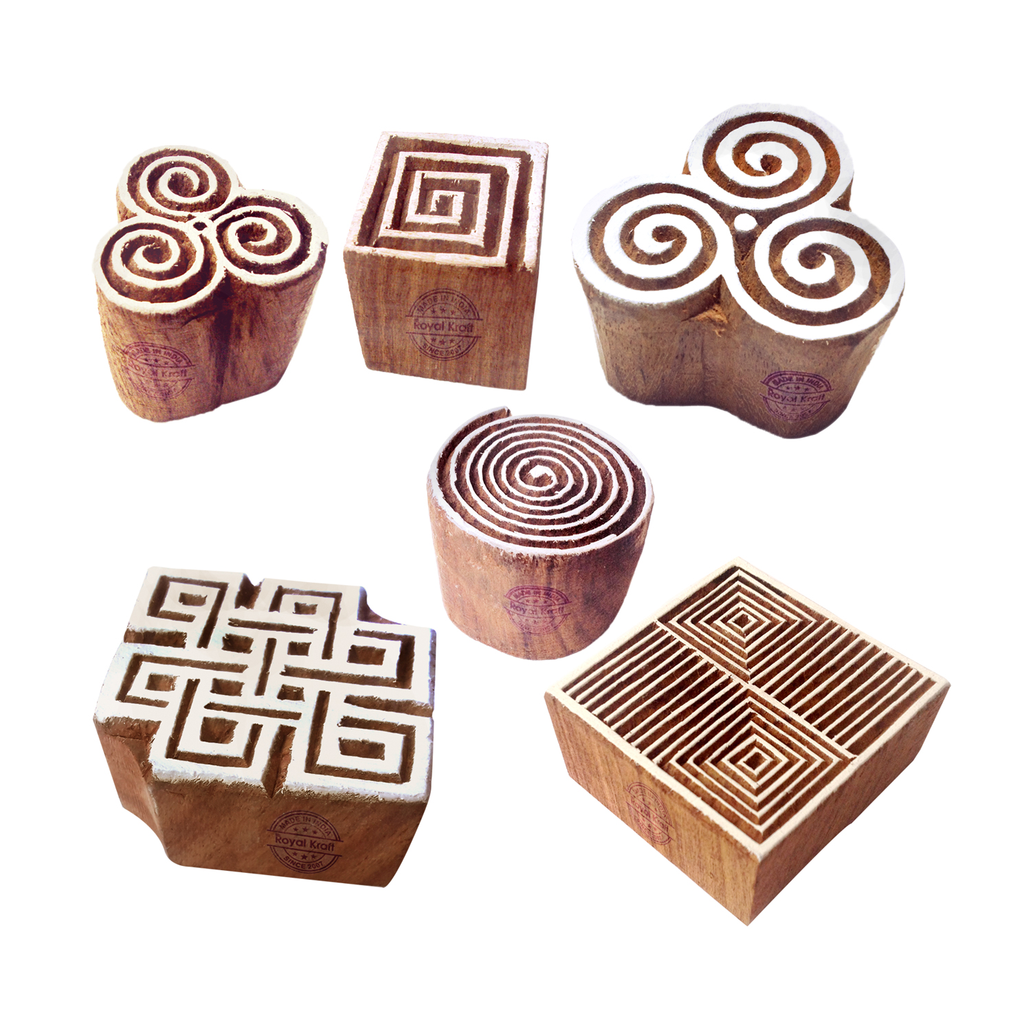 Square Printing Stamps 2.6 inches