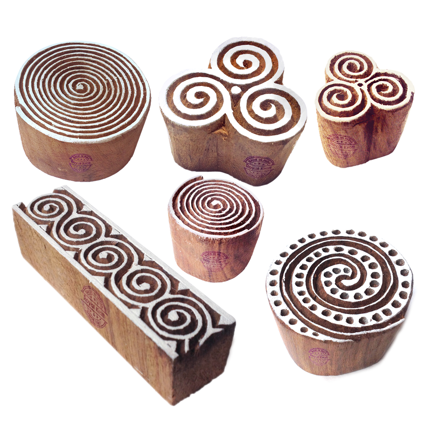 Round Printing Stamps 4 inches