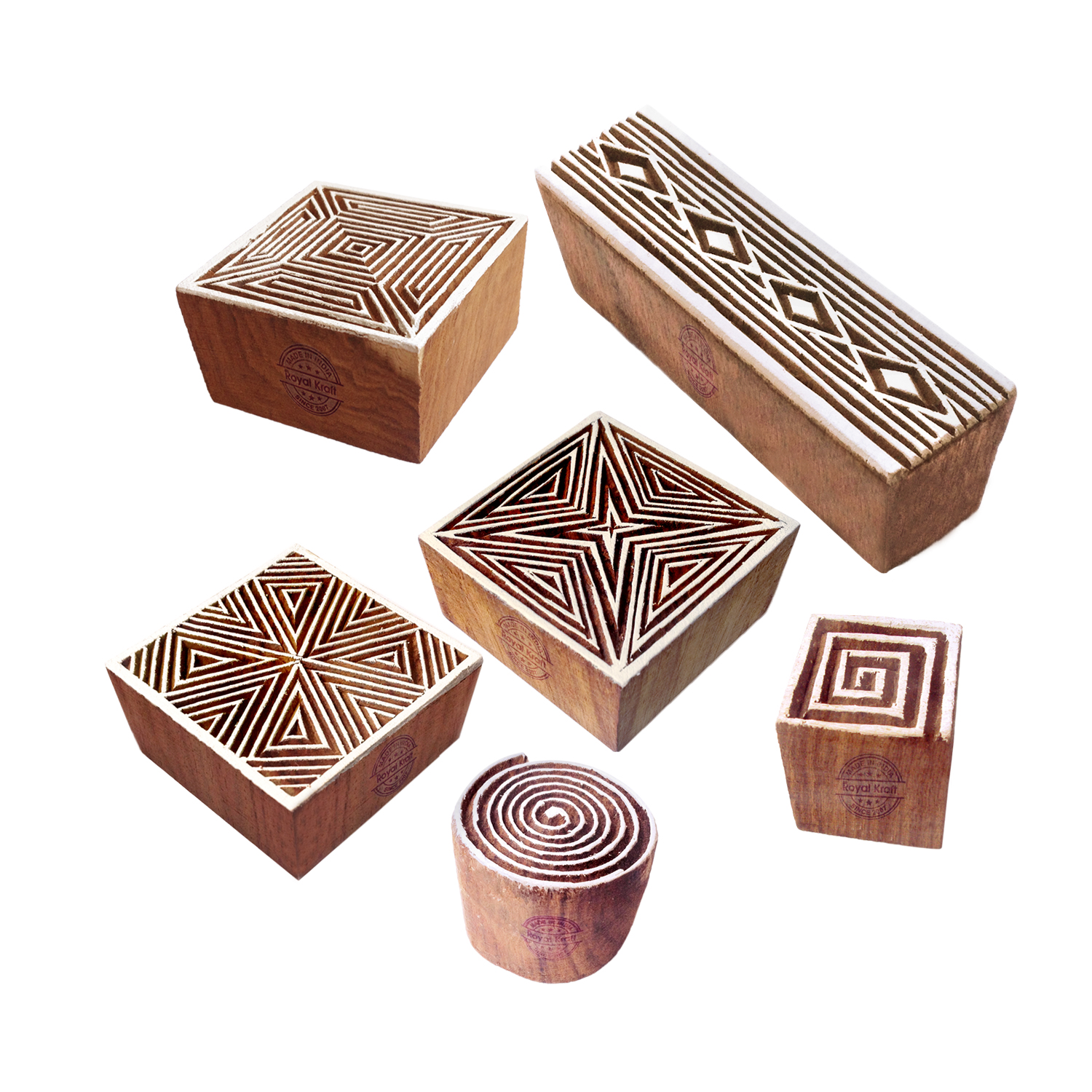 Square Printing Stamps 4 inches