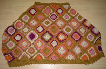 Designer Crochet Poncho