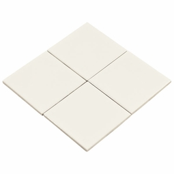 Bright White Ceramic Wall Tile
