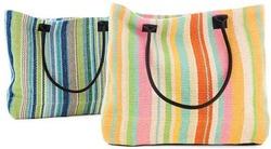 Colored Designer Cotton Hand Bag