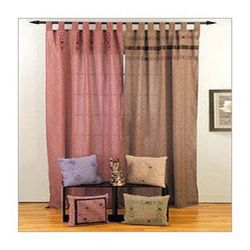 Cotton Dobby Woven Curtains