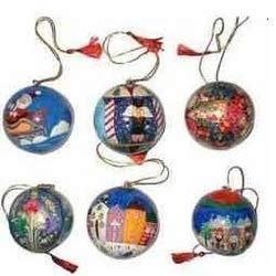 Embroidered Christmas Balls