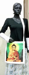 Printed Canvas Shopping Bag
