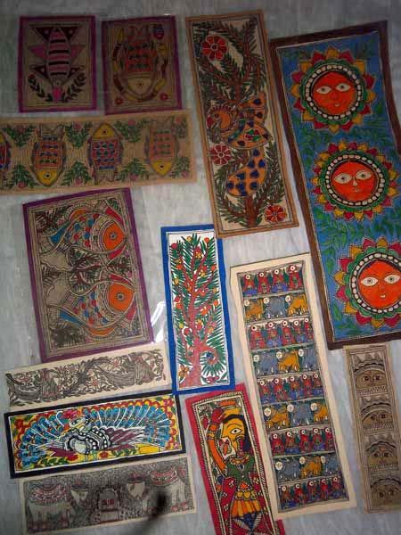 Designer Madhubani Paintings