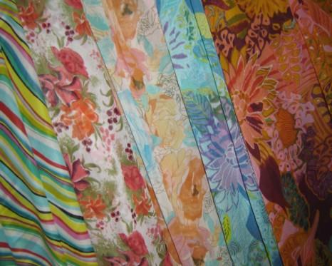 Printed Georgette Fabrics