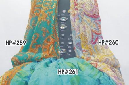 Printed Chiffon Fabrics