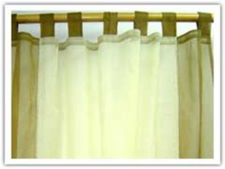 Cotton Organdy Curtains