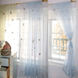 Atractive White Curtains