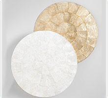 Designer Round Table Mats