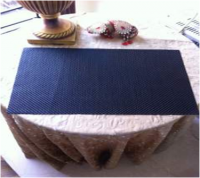 Basketweave Table Mats