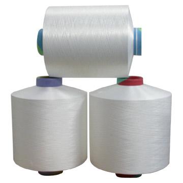 Nylon 6 Textured Yarn Row White