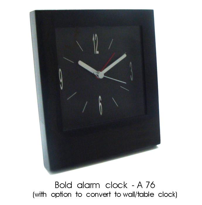 Multi Color Bold Alarm Clock