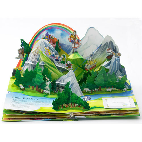 Colorful Pop Up Book Printing