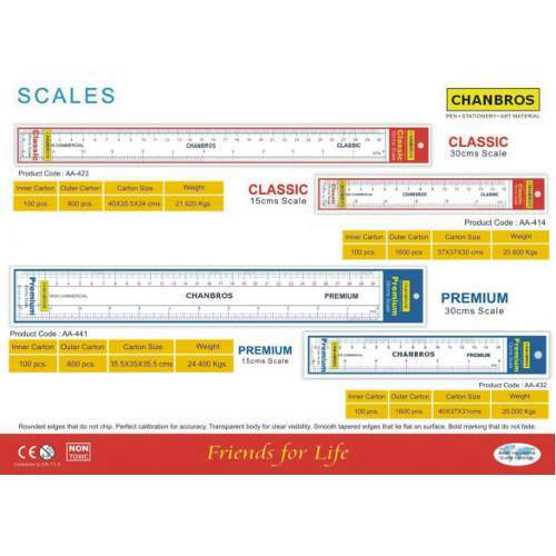 Crystal Measurement Scales