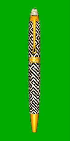 18kt Gold And 925 Sterling Silver Ball Pen