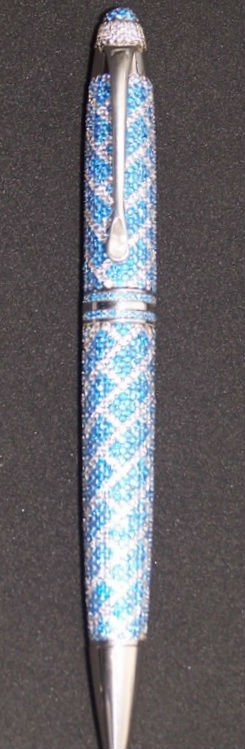 18kt Gold And 925 Sterling Silver Ballpoint Pen