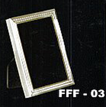 18kt Gold And 925 Silver Photo Frame