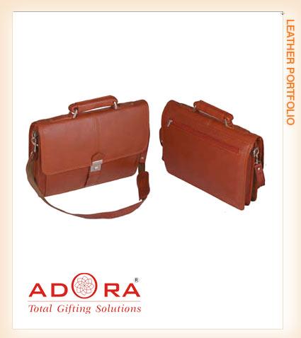 Leather Portfolio Bags Laptop Bags