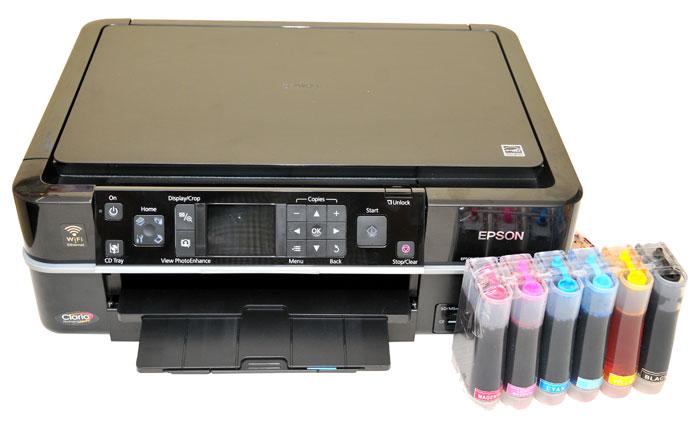 Epson Inkjet Printer Tx720wd