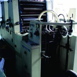 2 Colours Offset Printing Machine