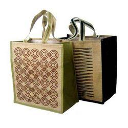 Printed Designer Jute Bags