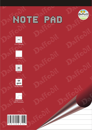 A4 Size Writing Note Pads