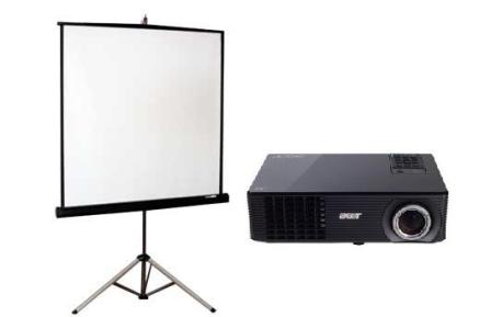 Projector and Projection Kit
