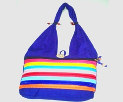 Ladies Cotton Canvas Shoulder Bags