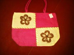 Ladies Designer Jute Bags