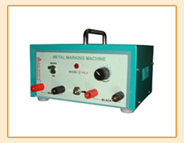 Electro Chemical Metal Marking Machines