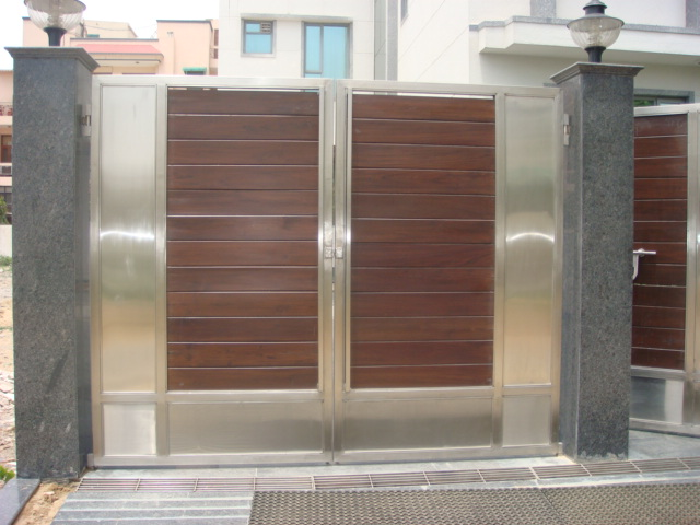 Stainless Steel Main Gates. Stainless Steel Main Gates  Stainless Steel Main Gate With