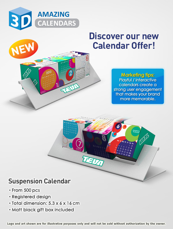 3d Suspension Calendar