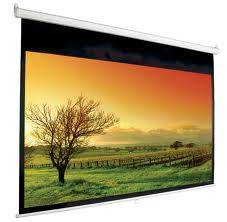 Motorised Remote Projector Screens