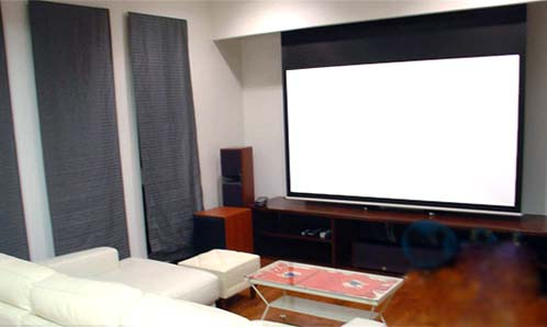 Glass Beaded Projection Screen