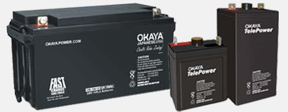 Okaya Rechargeable Batteries