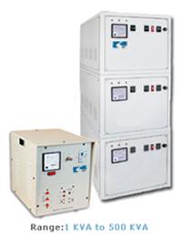 Three Phase Servo Voltage Stabiliser