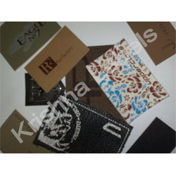 Leather Patch Printed Labels