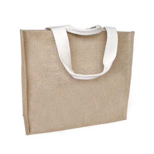 Jute With Canvas Bags