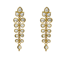 Designer Polki Earrings