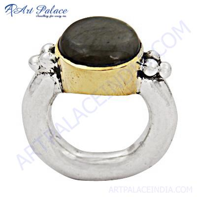 Hot Black Onyx Gemstone Silver Ring
