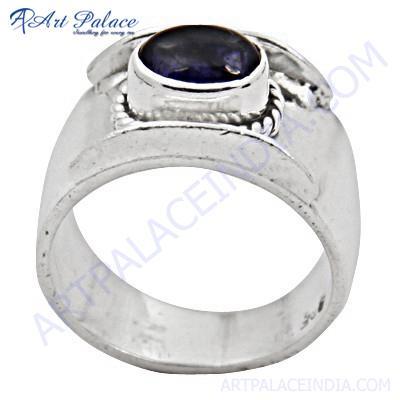 Hot!!! Luxury Gemstone Amethyst Silver Ring