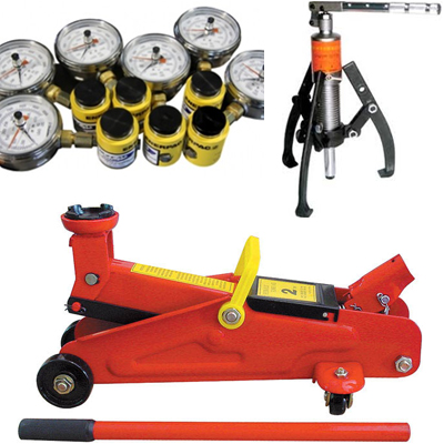 HYDRAULIC JACKS PULLER LOAD CELLS